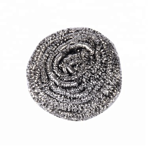 flat shape kitchen clean use stainless steel 410 scourer