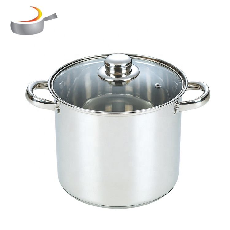 Wholesale 6pcs cooking pot metal stainless steel kitchen cookware saladmaster prices cookware saucepan