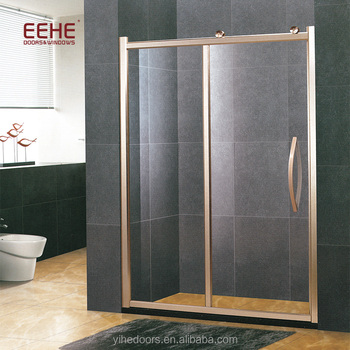 Smart 12mm tempered glass shower door without frame prices