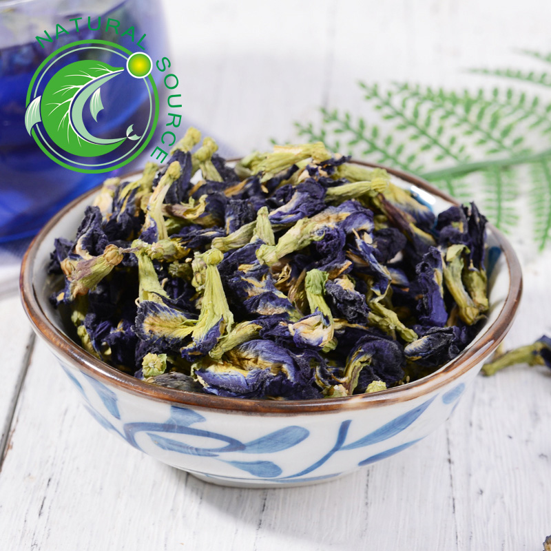 Blue Butterfly pudding Wholesale Dried Flower Tea Natural Dye Butterfly Pea - 4uTea | 4uTea.com
