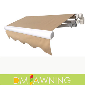 Wholesale cheap price simple manual operation retractable awning