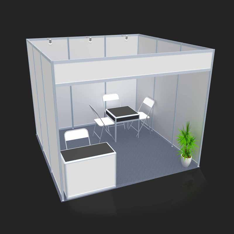 Normal Exhibition Booth Size : Modular portable display trade show exhibition booth stand
