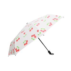 OEM Factory High Quality Beautiful Cheap Lady Mini Wholesale 3 fold Umbrella Sun and Rain for sale with Logo Prints