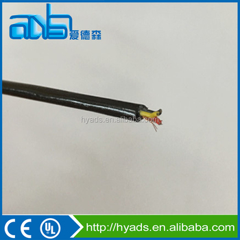 3 Cores 26awg Fep Insulated Tpee Sheathed High Temperature Wire ...