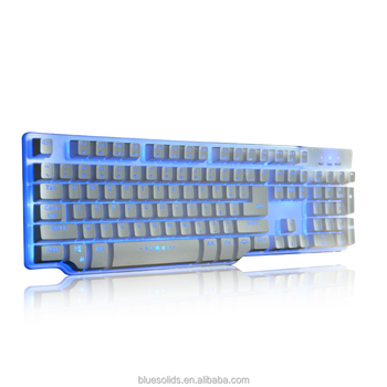 new professional floating keycaps metal plate build in plate