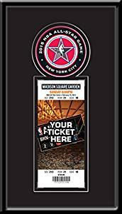 2015 NBA All-Star Game Single Ticket Frame - New York