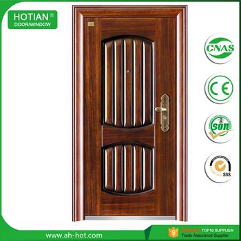 Exterior Commercial Metal Doors Perforated Steel Security Door