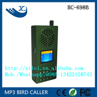 remote control 30w 130dB hunting equipment bird call mp3 with multi sounds