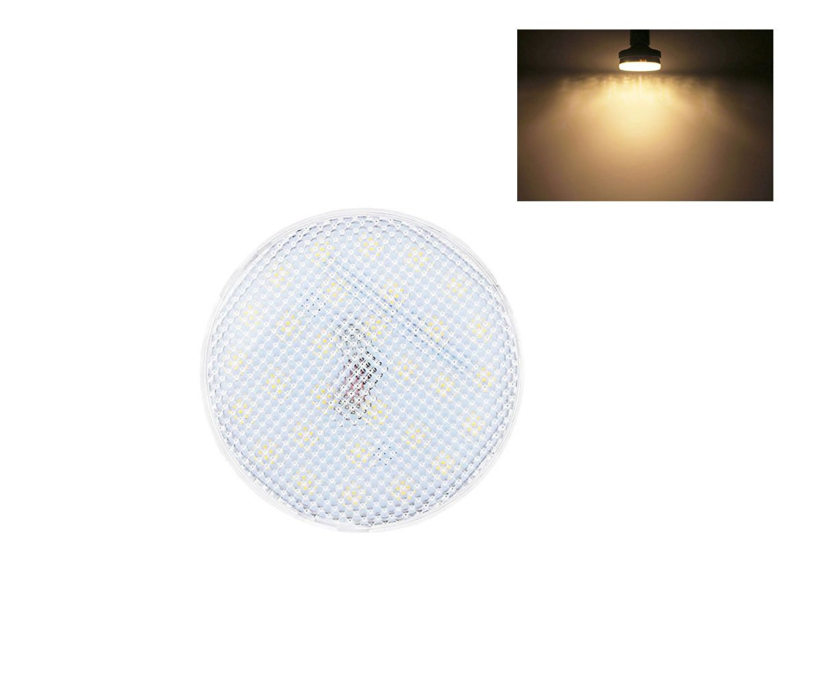 (2-Pack) Lamsky Warm White 3000k Gx53 7W AC100-240V LED Ceiling Light,Led Cabinet Lamp