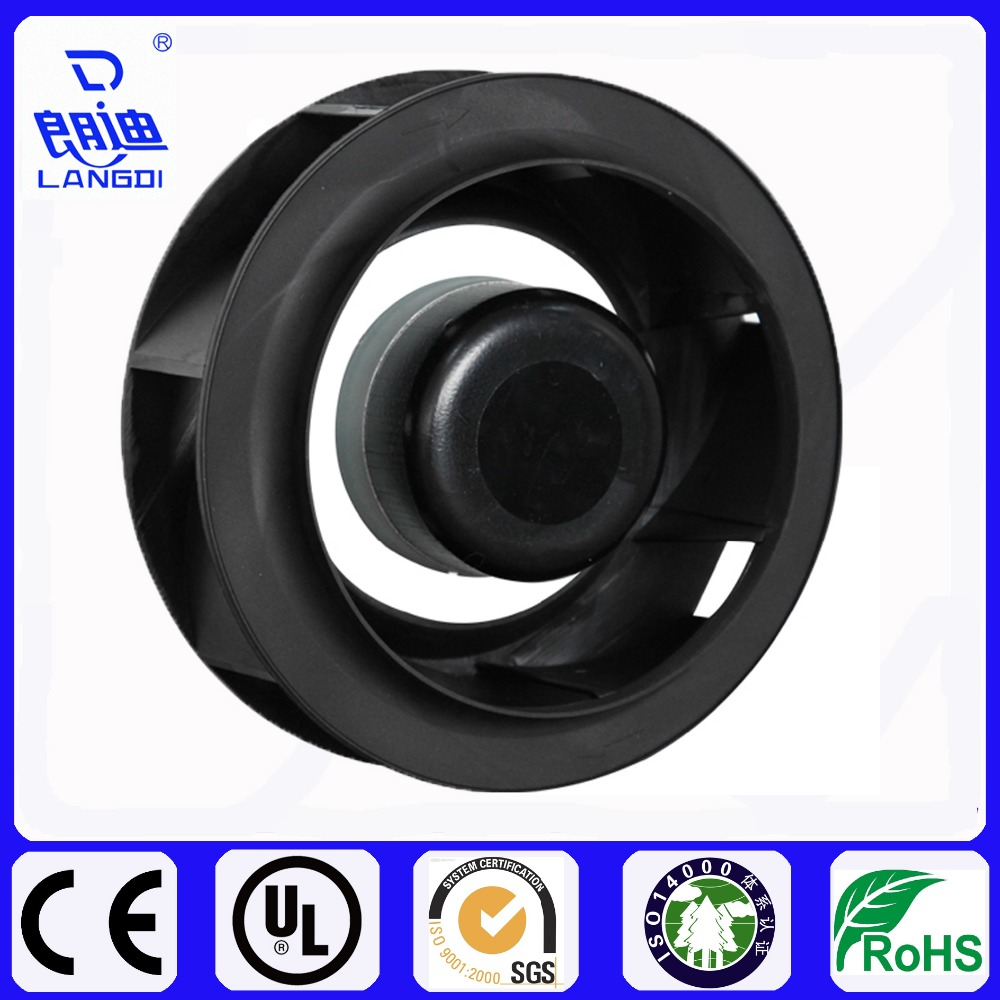 175mm DC Brushless Backward Curved Centrifugal fan with powerful impeller and low noise for VAV HVAC AHU