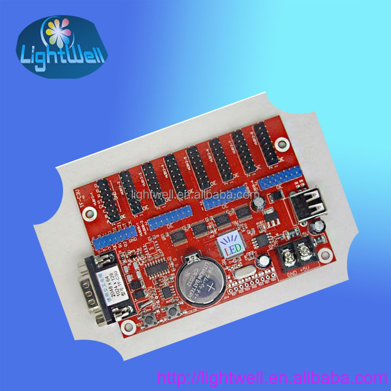 usb led message board control card TF-C6Ur for p10 led board with usb