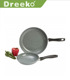 Non Stick Pan Fry Frypan Piece Cookware 2pc Skillet