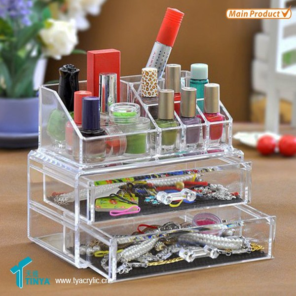 Hot New Products For 2016 Cosmetic Organizer Acrylic Make Up Display