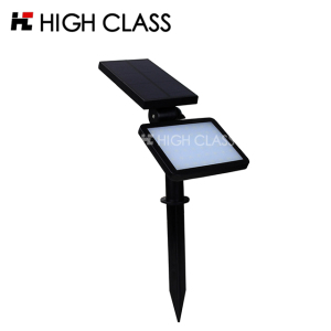 Modern outdoor wall Landscape Streetlight Garden Decorative Spotlight LED Solar Lawn Lamp