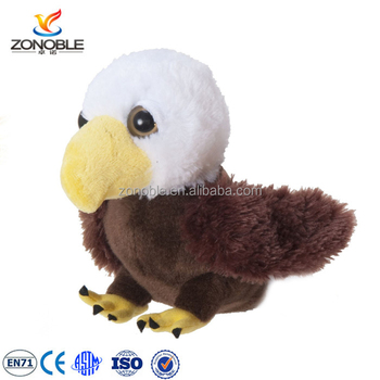 High Quality Baby Eagle Bird Plush Stuffed Animal Toy For Kids Gift