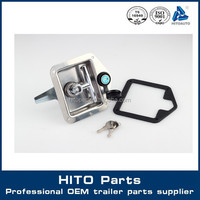 Container Truck Polished Stainless Steel t Handle Lock