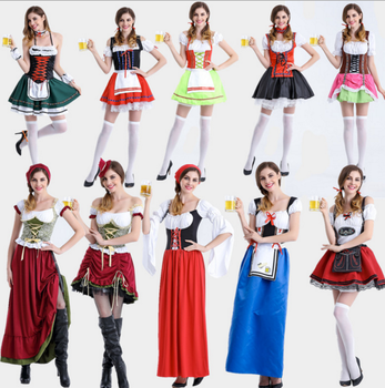 wholesale price Germany beer festival costume irish gal maid dres bavarian style cos 2823  sc 1 st  Alibaba & Wholesale Price Germany Beer Festival Costume Irish Gal Maid Dres ...