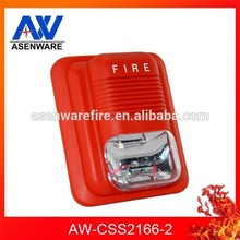 24V Conventional Fire Sounder Beacon Alarm Siren 24V AW-CSS2166-2