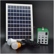 Solar Panel Portable Kit With Signal Generator 4Ah 5W Solar Kit 2012