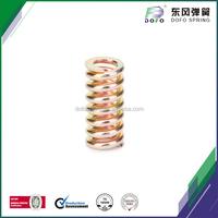 colored zinc plating vacuum pump snap spring