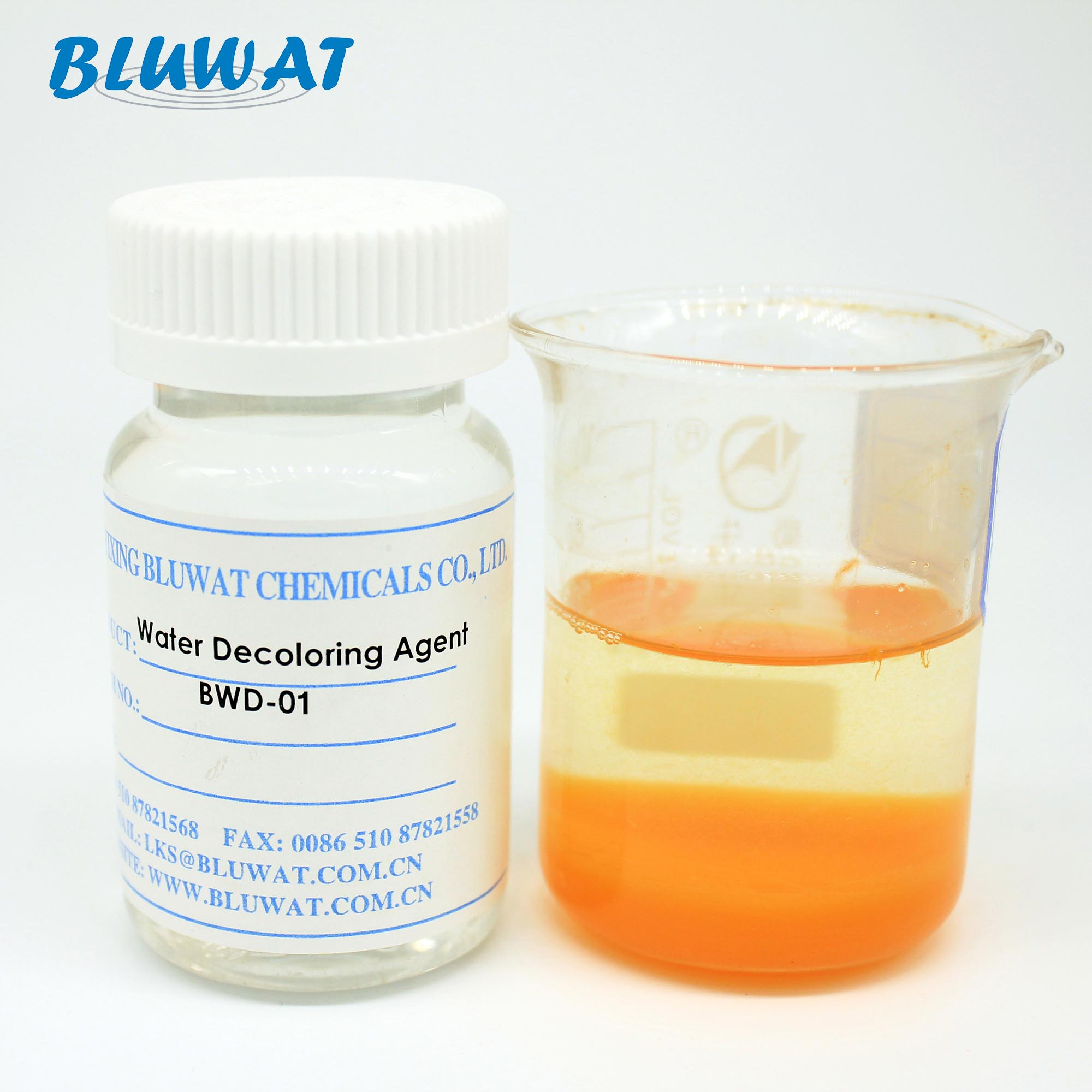 BWD-01 Water Decoloring <strong>Agent</strong> Paper Making Fixing <strong>Agent</strong> For Wastewater Treatment