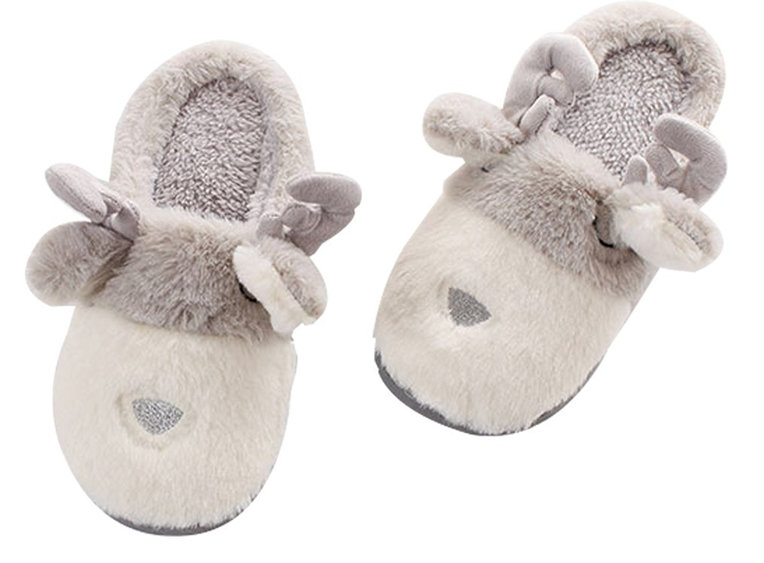 e633f3af892 Get Quotations · C wait Animal Indoor Fluffy Slippers Fuzzy Slippers Womens  Slippers