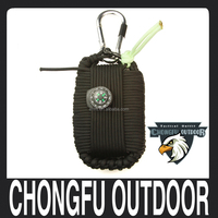 Emergency and camping gear paracord grenade survival kit wholesale