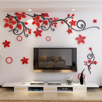 Creative Acrylic Plant Rattan Wall Painting Living Room Bedroom Home Decoration Wall Painting Buy Wall Painting Designs For Living Room 3d Wall Nude