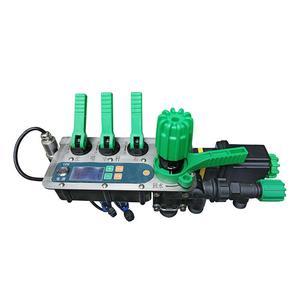 Adjustable micro quantitative spray control regulator for tractor boom spray