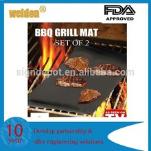 Réutilisable antiadhésif Surface BBQ Grill Mat Sheet Portable Easy Clean OutDoor