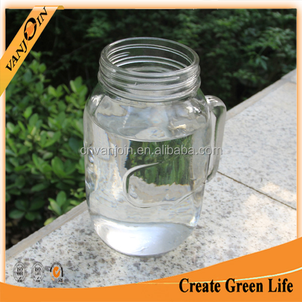 Big Container 1000ml Glass Beverage Jar With Screw Top