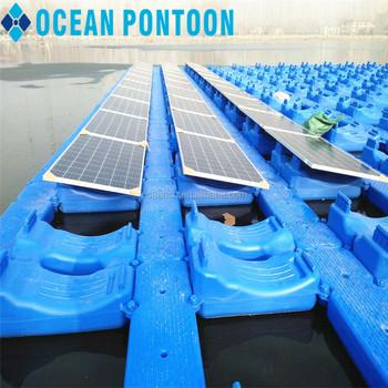 Floating Pontoon For Solar Panel Floating Solar Power