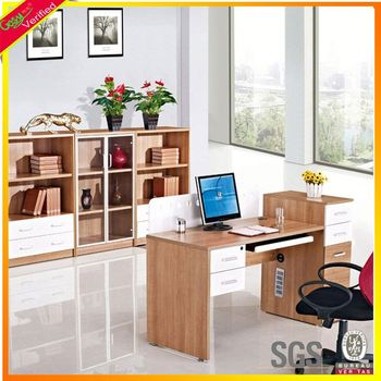 Best Design Wooden Computer Table Design With Study Table Moving Computer  Cart