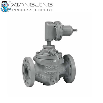 Fisher Type 63EG-98HM Pilot-Operated Relief Valve or Backpressure  Regulator, View Fisher, Fisher Product Details from Xiangjing (Shanghai)  M&E
