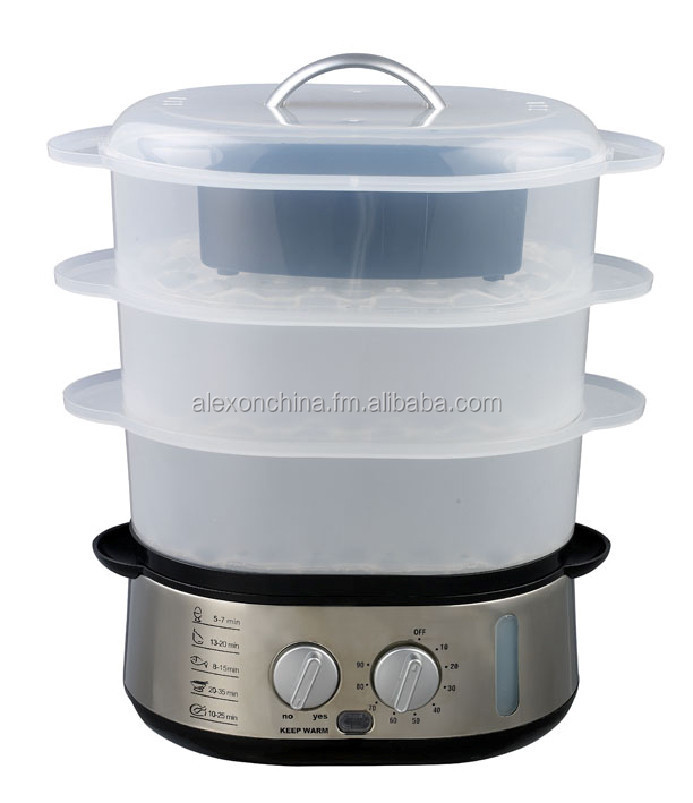 Food Steamer with Keep warmer function
