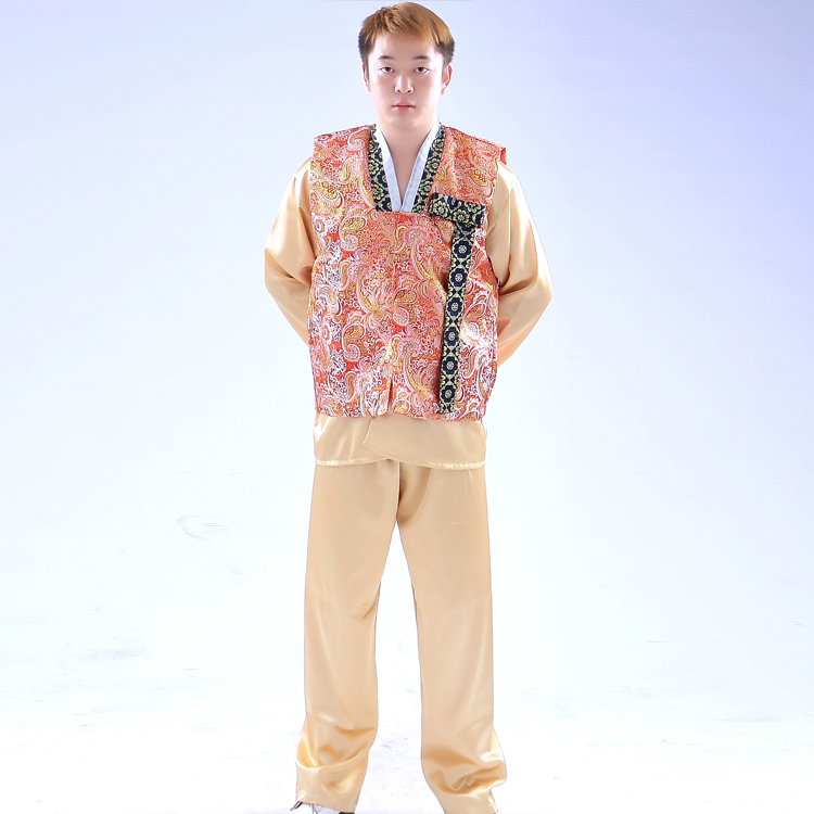 Buy Men Traditional Korean Hanbok Costume Male National Costumes