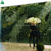 plastic imitation greenery succulent art plant wall for indoor&outdoor decor