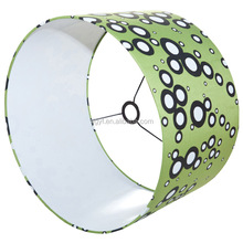 Round Fabric Table Lamp Hardback Lampshade