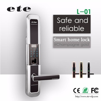 384a81be30c3 2017 ZIGBEE techniques touch keypad Door Lock Controlled with Android and  IOS Smart Phone WiFi Door
