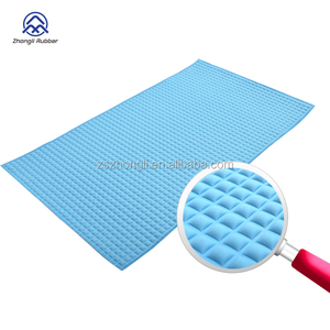 Back Massage Air Filled Rubber Bath Mat Small Bubble Tub Mat