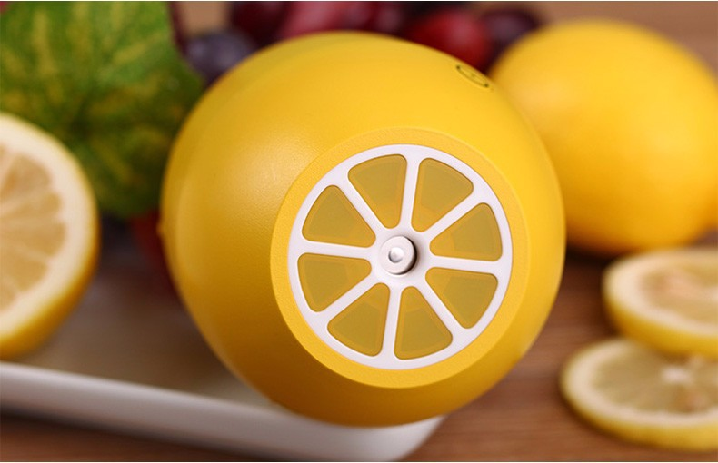 7-colors Colorful Nightlight Portable Cute Lemon USB Air Spray Diffuser Car Humidifier