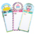 Licheng LW7686 Magnetic Shopping List, Wholesale Fridge Magnet Notepad and Pen