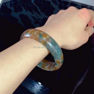 hand carved natural Fashion bracelet Agate Stone Jewelry Wholesale