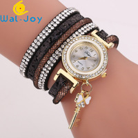 WJ-7460 Fashion new girl Student Key Pendant Bracelet Watch Alibaba Hot Style Bright Chip Water Diamond Fashion Statement