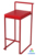 Simply design metal stackable bar stool supplier