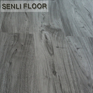 Waterproof Wood Grey Laminate Parquet FLooring