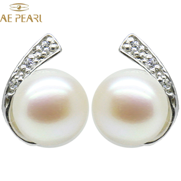 """SALE Big 9-10mm High quality Natural WHITE Flat ball Pearl 17/"""" necklace-nec5370"""