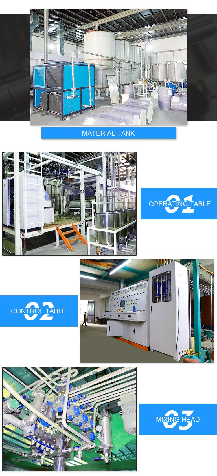 Qualitätsschwammsofa-Schaum, der Maschinenproduktionslinie herstellt