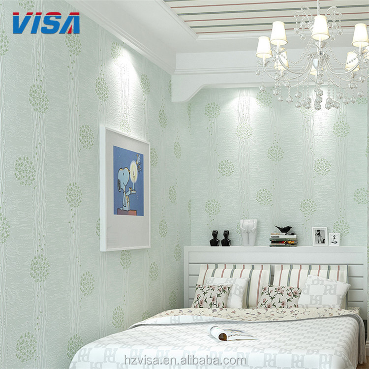 Beautiful bedroom wall decoration 3d wallpaper for home decor