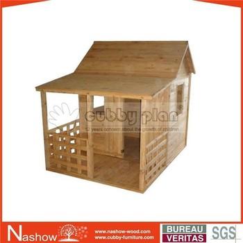 Cubby Plan Children Outdoor Furniture Wooden Play House Buy Play House Wooden Playhouse